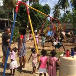 Willoughby Town Centre Dental contributed to a Haiti mission to construct a playground for an orphanage